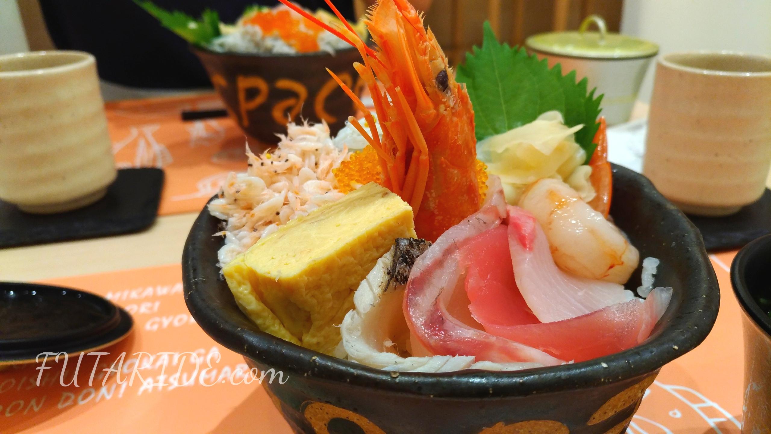 【サカナスペース】お洒落でリーズナブルな海鮮丼【名古屋パルコ】