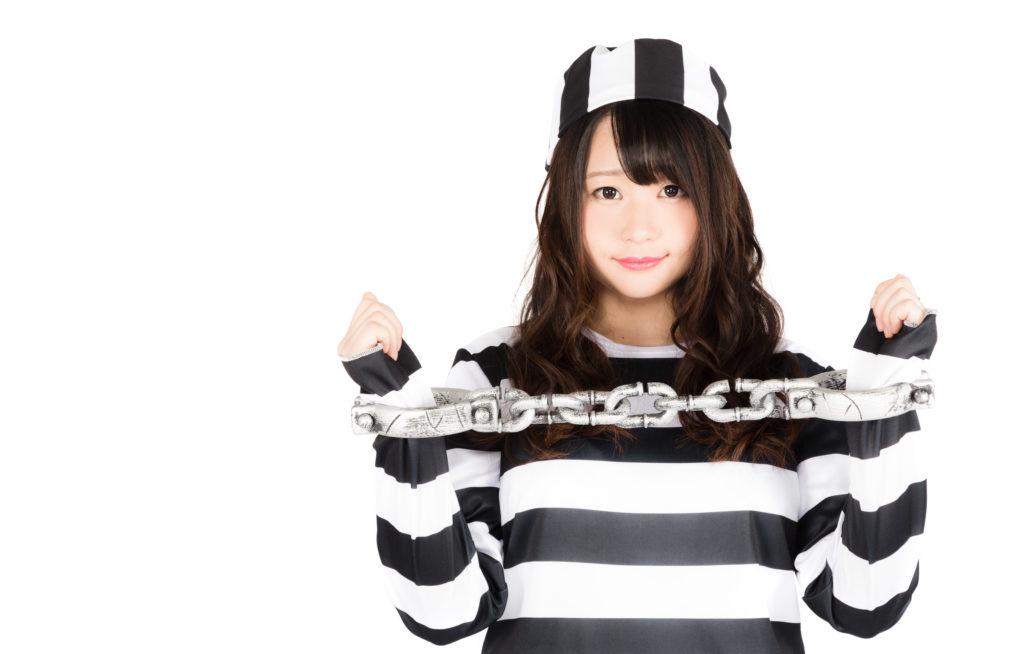 ハロウィン 仮装 囚人