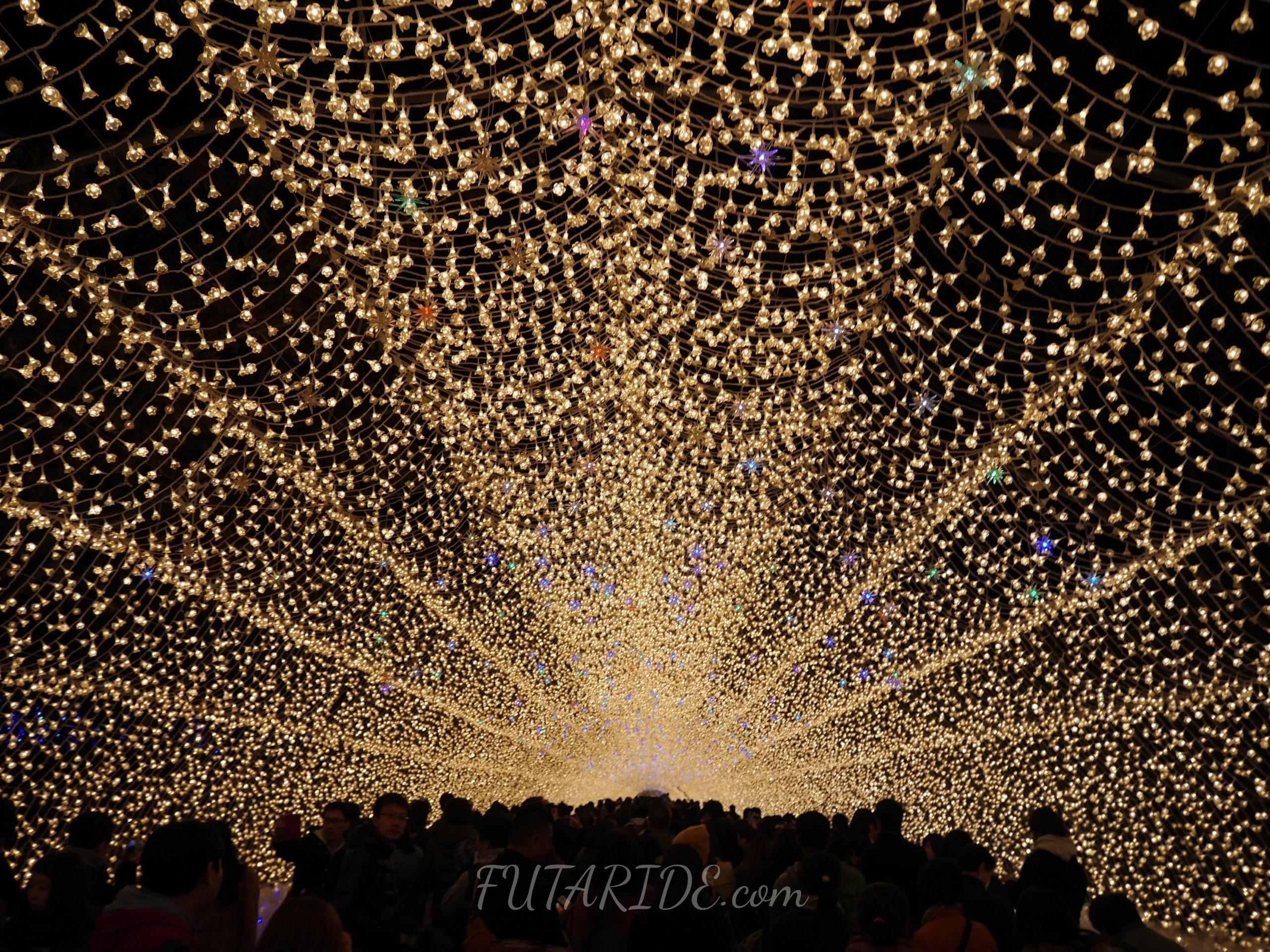 【なばなの里】国内最大級の光の祭典!なばなの里イルミネーションの期間・攻略情報まとめ【三重・桑名】