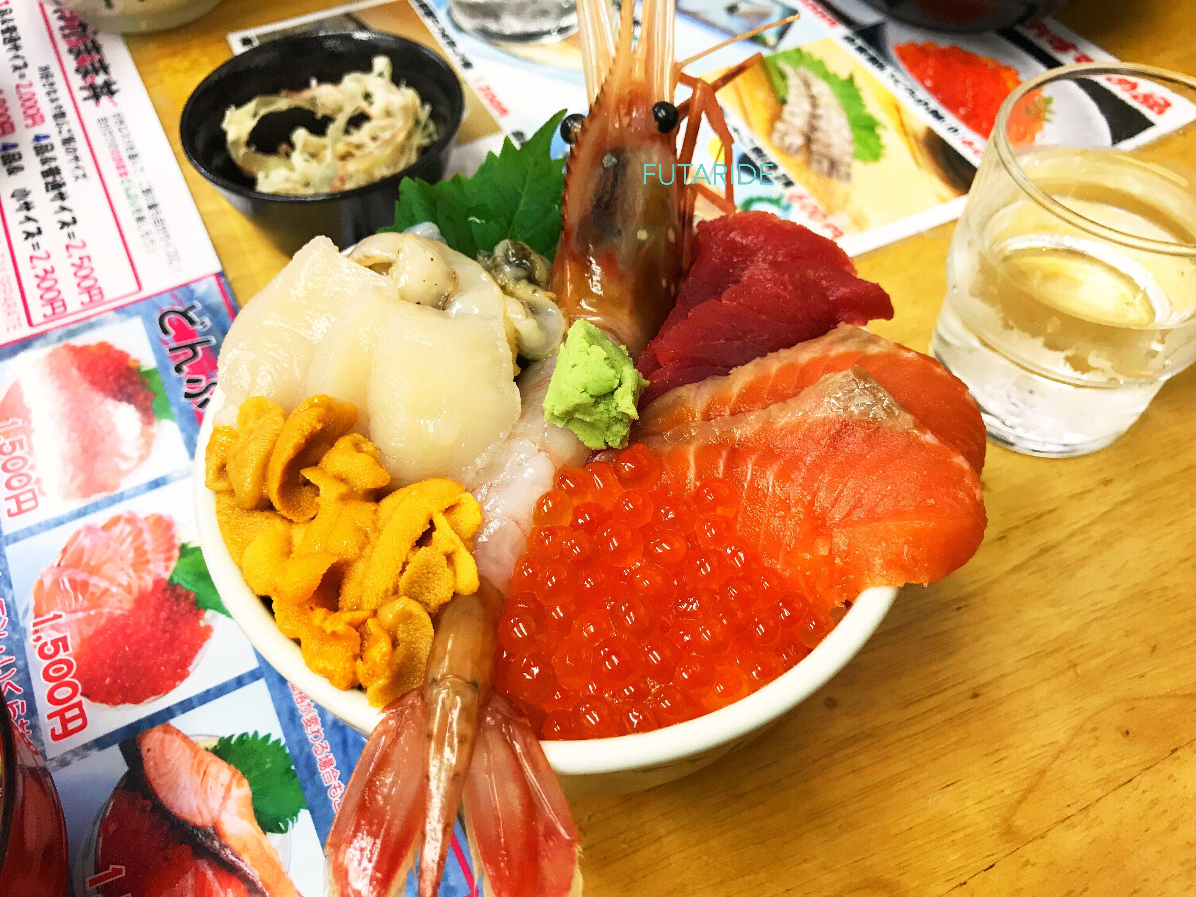 【小樽】海鮮丼が本当に美味しい滝波食堂【海の幸】
