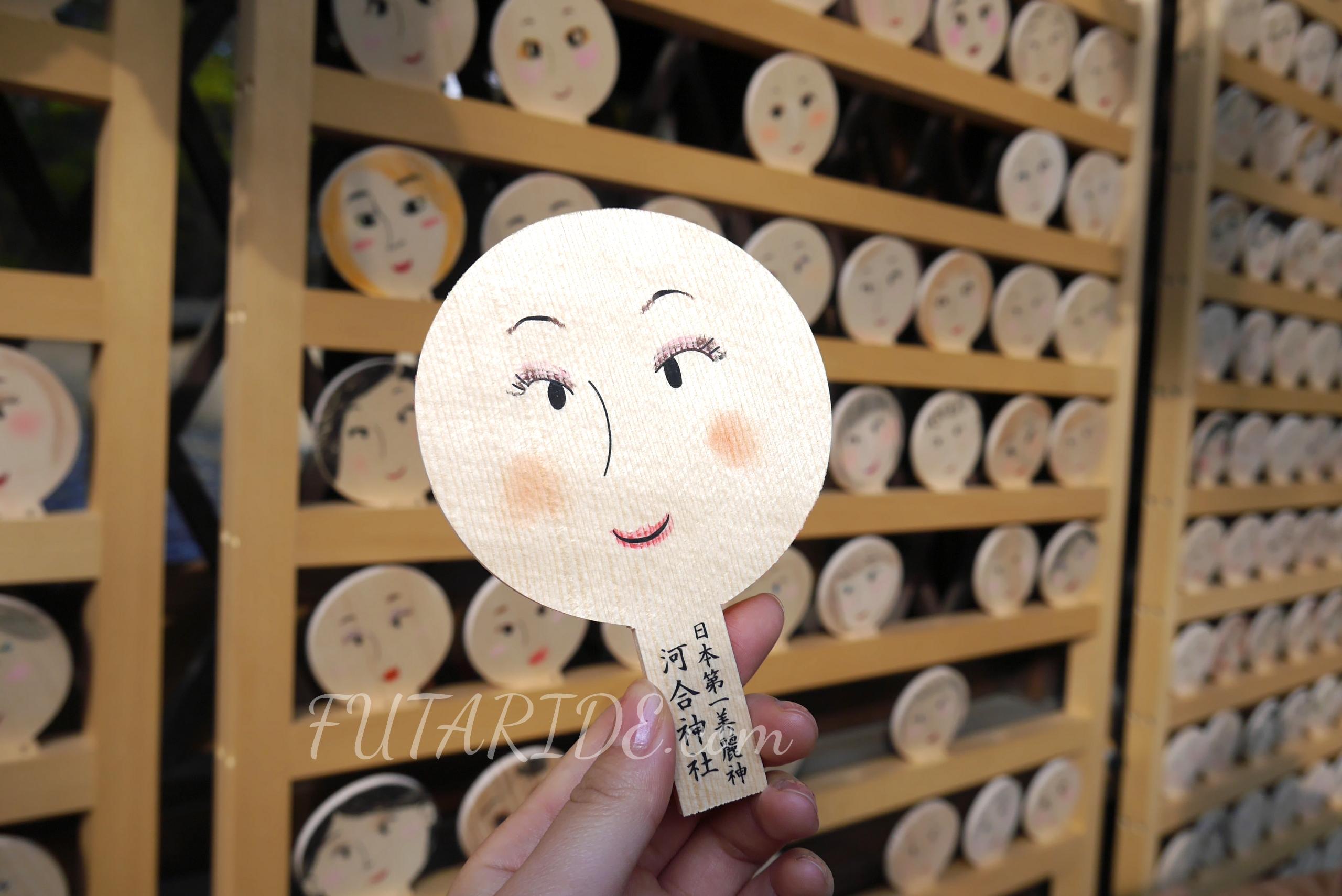 京都・河合神社で美人祈願! お化粧した鏡絵馬を奉納して美人になろう