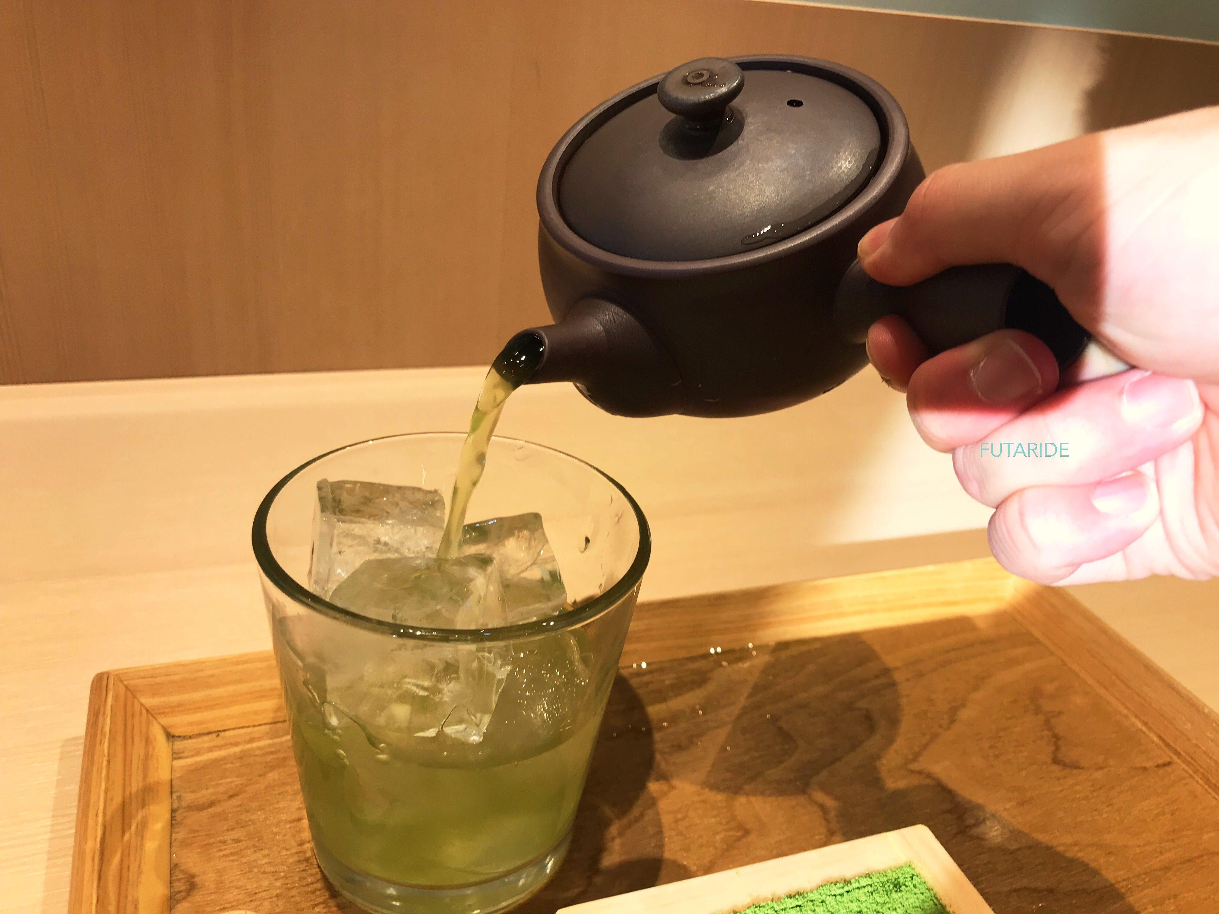 抹茶玄米茶
